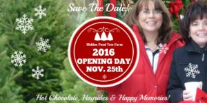 Save The Date! 2016 Opening Day Is November 25th