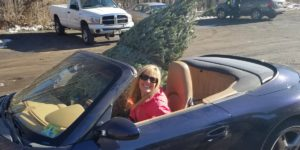 Will A Christmas Tree Fit In Your Porsche?
